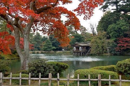 Kenroku-en Garden, Ishikawa, Japan
