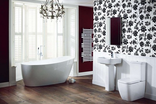 Bathroom designing ideas you should go for for Monochromatic bathroom designs