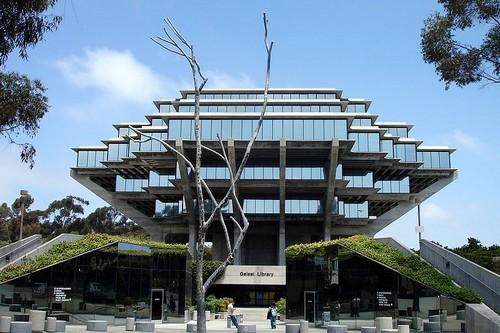 art Βιβλιοθήκες κτίρια Σαν Ντιέγκο