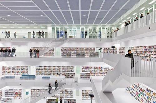 κτίρια τέχνης Βιβλιοθήκες, Γερμανία