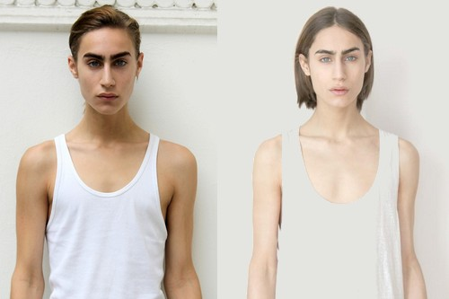 Transgender Models May Simon