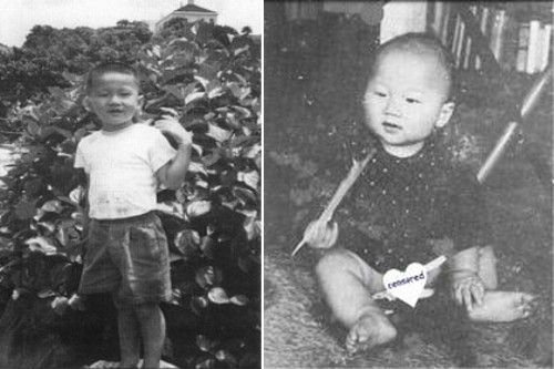 jackie chan Foto masa kecil langka