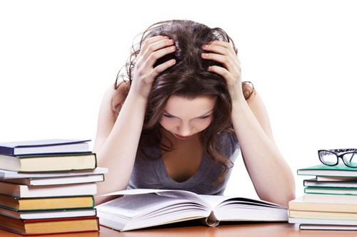 dealing with exam stress