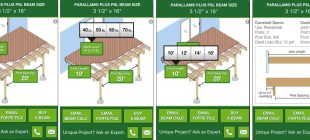 Parallam Plus Deck Beam Sizer App Now Available for Android