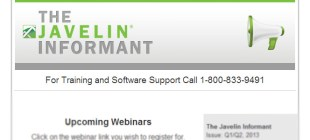 Stay Informed with the Javelin Informant