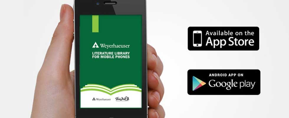 weyerhaeuser literature app