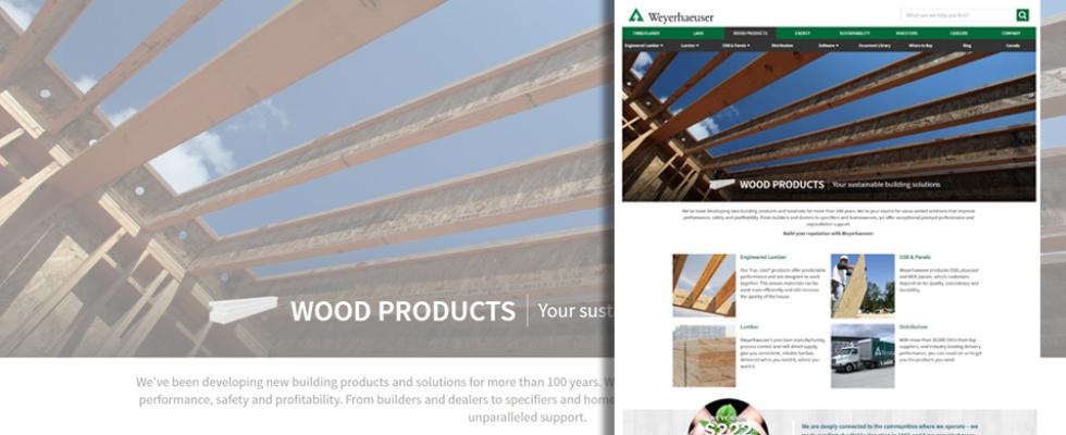 WoodbyWY is now Weyerhaeuser.com