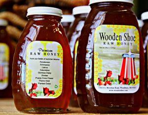 Wooden Shoe has Honey!