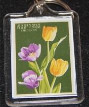 keychain tulip