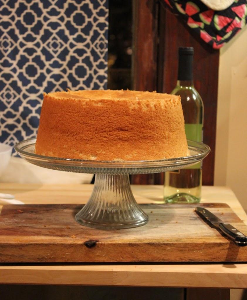 Gluten-Free & Dairy-Free} Chiffon Cake