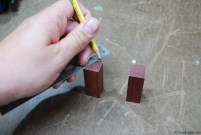 Slimline Pencil Turning Prep