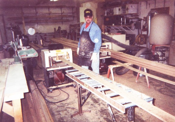 """""""They don't break. Our 718 paid for itself in 3 months. We've run over a million lineal feet through it and we've replaced just 4 bearings, 4 springs, and 2 washers. That's it — they don't break. If you have just the Woodmaster and a table saw, you could make a living making molding. Our two families are making a good living."""""""