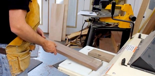 """I start all my projects by putting the wood through my Woodmaster set up as a planer. This assures the wood is flat, smooth, and the exact thickness I want."""