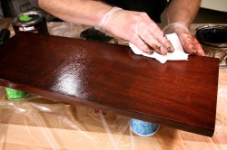 Small Of Red Mahogany Stain