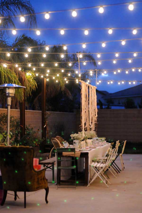 patiooutdoorstringlightswoohome3 cafe lighting ideas
