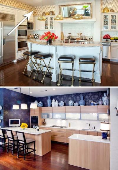 20 Stylish and Budget-friendly Ways to Decorate Above Kitchen Cabinets