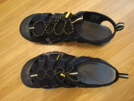 Keen Commuter, Keen Newport H2 sandals