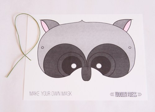 Make Your Own Raccoon Mask