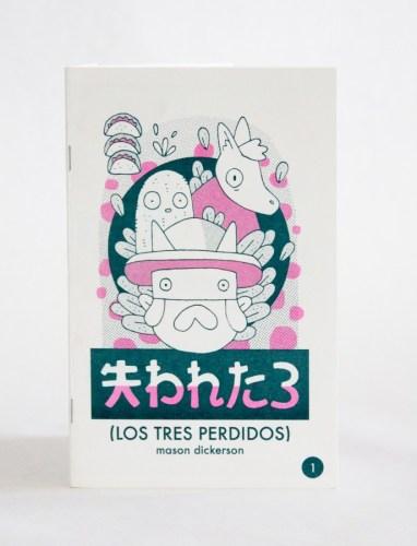 Los Tres Perdidos (Cover) Comic Book By Mason Dickerson