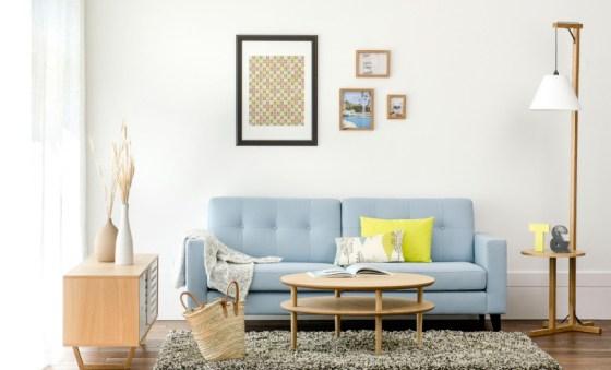 zacht blauw in de bank via fashionforhome. Black Bedroom Furniture Sets. Home Design Ideas