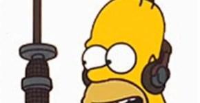 Homero simpson y Usher