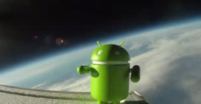 Android paseo por el espacio
