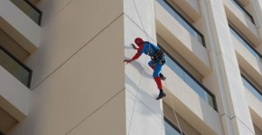 Spiderman-edificio