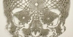 babayaga arte en papel cortado