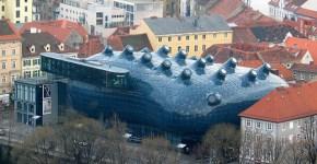 museo de arte, Graz Austria