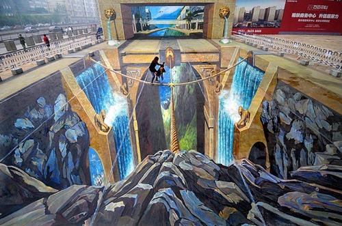 Pintura 3D mas grande del mundo