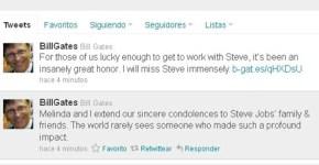 Bill Gates sobre Steve Jobs
