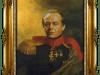 retrato de Jack Nicholson como militar