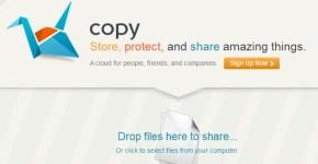 Almacenar y sincronizar archivos online con Copy