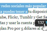 Tweets de twitter con bookmarklet