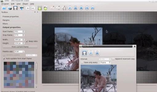 Hacer Gifs animados con videos