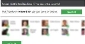 Controlar privacidad en publicaciones Facebook