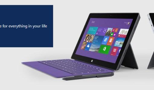 Microsoft Surface 2 pre ordenar