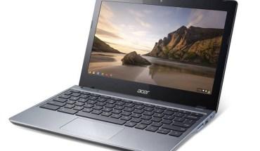 Laptop barata Acer Chromebook C720