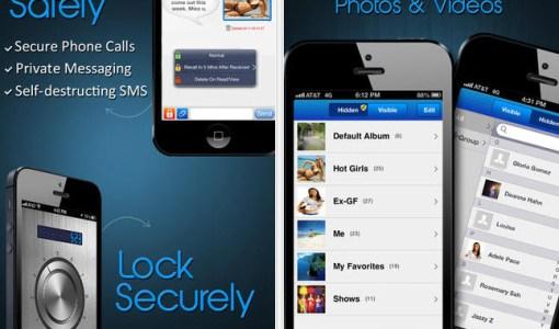 Privacidad y seguridad en llamadas telefono y mensajes iPhone