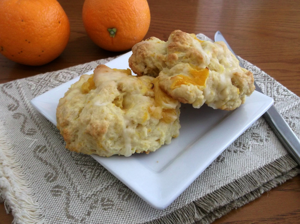 Panera Bread Orange Scones