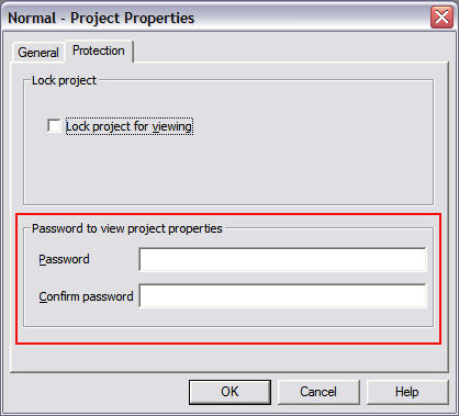 how to protect ms word normaldot template file