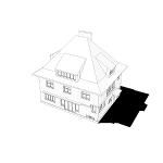 Dobřichovice Villa | Renovation | Graphic Stylization