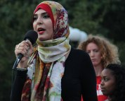 Nerdeen Kiswani, Students for Justice in Palestine