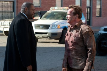 Forest Whitaker and Arnold Schwarzenegger in 'The Last Stand'.(Courtesy of Lionsgate/Merrick Morton)