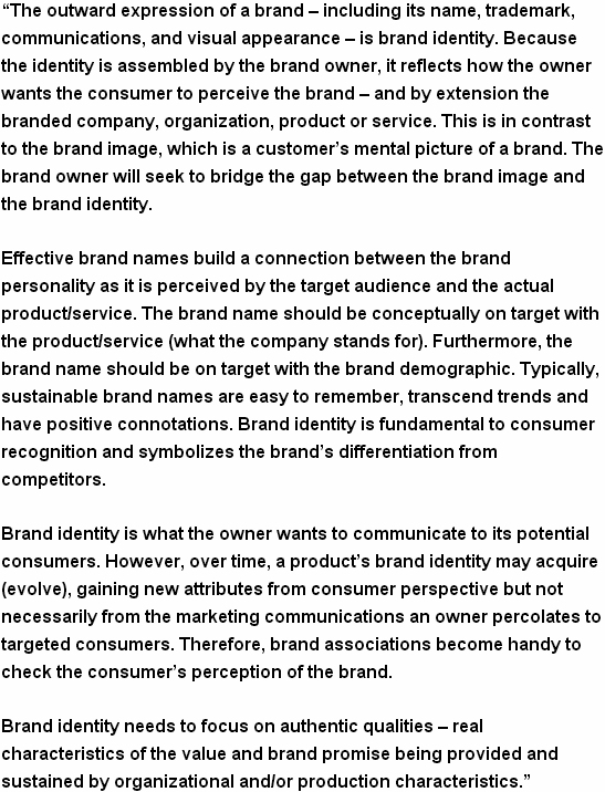 Brand Identity Defined