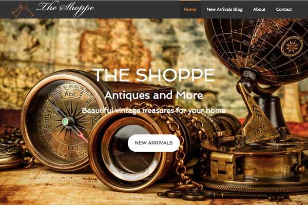 WordPress-Design-Store-Front