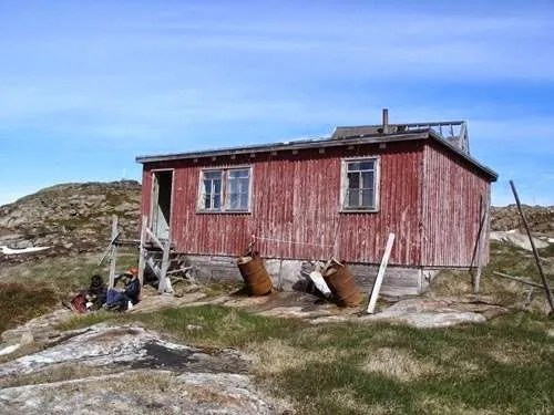 Ikateq in Greenland is now a ghost town