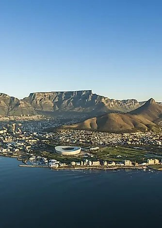 Table Mountain, South Africa - Unique Places around the World - WorldAtlas.com
