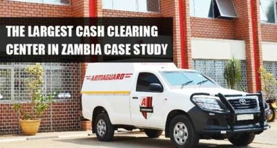 The Largest Cash Clearing Center, Zambia