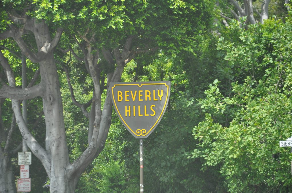 Entrance to Beverly Hills